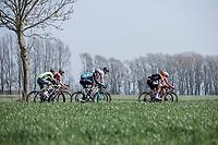 early breakaway group<br /> <br /> Bredene Koksijde Classic (2019) ( former Handzame Classic )<br /> Bredene > Koksijde 199km (BEL)<br /> <br /> ©kramon