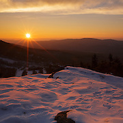 This is the image for November in the 2016 White Mountains New Hampshire calendar. Sunset from Bald Mountain in Franconia Notch State Park, New Hampshire USA. The calendar can be purchased here: http://bit.ly/17LpoRV