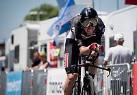 Harry Sweeny (AUS/Lotto Soudal)<br /> <br /> Stage 20 (ITT) from Libourne to Saint-Émilion (30.8km)<br /> 108th Tour de France 2021 (2.UWT)<br /> <br /> ©kramon