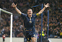 17/11/2007      Copyright Pic: James Stewart.File Name : sct_jspa06_scotland_v_italy.BARRY FERGUSON CELEBRATES AFTER HE SCORES SCOTLAND'S GOAL.James Stewart Photo Agency 19 Carronlea Drive, Falkirk. FK2 8DN      Vat Reg No. 607 6932 25.Office     : +44 (0)1324 570906     .Mobile   : +44 (0)7721 416997.Fax         : +44 (0)1324 570906.E-mail  :  jim@jspa.co.uk.If you require further information then contact Jim Stewart on any of the numbers above........
