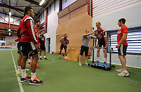 Pictured: Gerhard Tremmel (R). Thursday 03 July 2014<br />