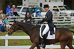 Boyd Martin (USA)  aboard Ying Yang Yo, leads the 3 Day event with the highest score in dressage during day one  Fair Hill International in Fair Hill, MD  on 10/14/11.  (Ryan Lasek / Eclipse Sportwire)