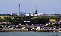 Pictured: The Murco Refinery near Milford Haven, Wales, UK<br />