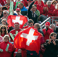 14-09-12, Netherlands, Amsterdam, Tennis, Daviscup Netherlands-Suiss, supporters