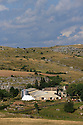 23/08/13 - CAUSSE MEJEAN - LOZERE - FRANCE - Polyculture et elevage de brebis sur le Causse Mejean - Photo Jerome CHABANNE
