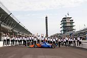 NTT P1 Pole winner #9: Scott Dixon, Chip Ganassi Racing Honda with Honda HPD Engineers