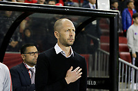 TORONTO, ON - OCTOBER 15: Gregg Berhalter manager of the USMNT during a game between Canada and USMNT at BMO Field on October 15, 2019 in Toronto, Canada.