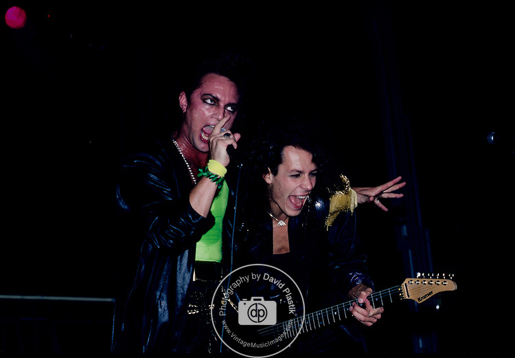 Geoff Tate & Chris DeGarmo of Queensryche 1987