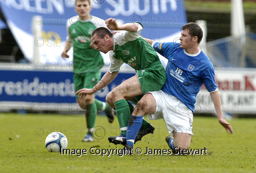 24/02/2007       Copyright Pic: James Stewart.File Name : sct_jspa08_qots_v_hibernian.NEIL SCALLY CHALLENGES  SCOTT BROWN.....James Stewart Photo Agency 19 Carronlea Drive, Falkirk. FK2 8DN      Vat Reg No. 607 6932 25.Office     : +44 (0)1324 570906     .Mobile   : +44 (0)7721 416997.Fax         : +44 (0)1324 570906.E-mail  :  jim@jspa.co.uk.If you require further information then contact Jim Stewart on any of the numbers above.........
