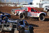 Apr 17, 2011; Surprise, AZ USA; LOORRS driver Rodrigo Ampudia (36) during round 4 at Speedworld Off Road Park. Mandatory Credit: Mark J. Rebilas-