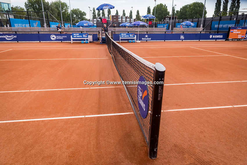 Amstelveen, Netherlands, 1 August 2020, NTC, National Tennis Center, National Tennis Championships, Centre Court