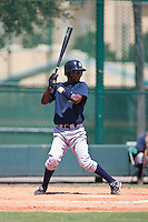 Jose Toussen of the Gulf Coast League Yankess during the game in Orlando, Florida. The GCL Yankees are the Rookie League affiliate of the New York Yankees. Photo By Scott Jontes/Four Seam Images