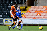 Dundee United v St Johnstone…12.01.21   Tannadice     SPFL<br />Scott Tanser shoots wide<br />Picture by Graeme Hart.<br />Copyright Perthshire Picture Agency<br />Tel: 01738 623350  Mobile: 07990 594431