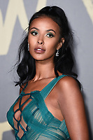 Maya Jama<br /> arriving for the Fashion for Relief show 2019 at the British Museum, London<br /> <br /> ©Ash Knotek  D3519  14/09/2019