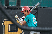 Brandon Mayberry (60), from Kansas City, Missouri, while playing for the Mariners during the Baseball Factory Pirate City Christmas Camp & Tournament on December 29, 2017 at Pirate City in Bradenton, Florida.  (Mike Janes/Four Seam Images)