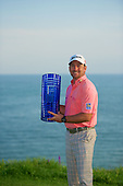Graeme McDowell (NIR) winner of the 2013 Volvo World Matchplay Championship held  at the Thracian Cliffs Golf & Beach Resort, Kavarna, Bulgaria, 19th May 2013..Picture: Volvoingolf/www.golffile.ie.
