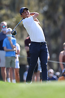 14th March 2021; Ponte Vedra Beach, Florida, USA;  Doug Ghim of the United States plays a tee shot on the 12th hole during the final round of THE PLAYERS Championship on March 14, 2021 at TPC Sawgrass Stadium Course in Ponte Vedra Beach, Fl.