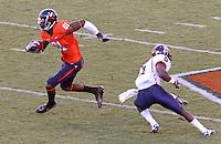 Virginia defeated Richmond 34-13 in their season opener September 4, 2010 at Scott Stadium in Charlottesville, Va. Credit Image: © Andrew Shurtleff