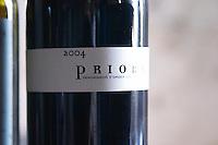 Priora, Priorat Priorato. Vinyes Mas Romani. Spain Europe. Bottle.