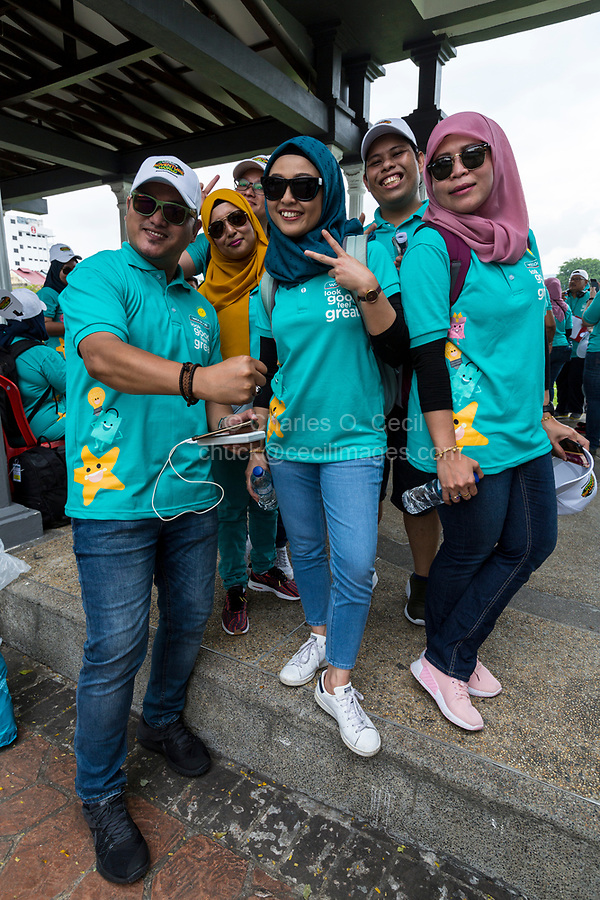 Young Malaysians on a Company Team-building Exercise, Ipoh, Malaysia.
