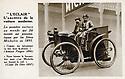 16/01/20 - CHAPPES - PUY DE DOME - FRANCE - Essais L Eclair, voiture constrruite par le freres MICHELIN en 1896 pour venter les merites des pneumatiques en caoutchouc - Photo Jerome CHABANNE