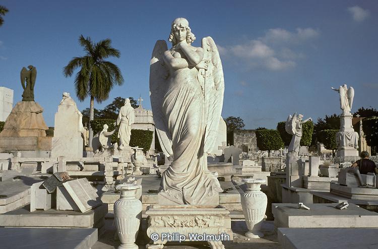 The Necropolis de Colon in the Vedado district of Havana.