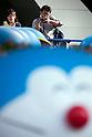Sixty-six Doraemon Staues in Tokyo