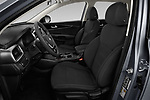 Front seat view of 2020 KIA Sorento S-V6 5 Door SUV Front Seat  car photos