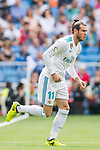 Gareth Frank Bale of Real Madrid substitutes Karim Benzema (Not in picture) of Real Madrid during the La Liga match between Real Madrid and Levante UD at the Estadio Santiago Bernabeu on 09 September 2017 in Madrid, Spain. Photo by Diego Gonzalez / Power Sport Images