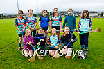 Attending the Tralee Parnells Cúl Camps on Monday, front l to r: Abbie Stevens, Aobh Culloty, Jessica Leen and Aobhín O'Sullivan.<br /> Back l to r: Keelan Reidy, Caoilainn Culloo, Allie Canty, Mary Angela Lynch, Roanna and Brid O'Sullivan.