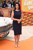 """Dawn Harper<br /> arrives for the premiere of """"The Nice Guys"""" at the Odeon Leicester Square, London.<br /> <br /> <br /> ©Ash Knotek  D3120  19/05/2016"""