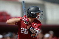 Arkansas' Hannah Gammill takes an at-bat Saturday, Oct. 9, 2021, during play against Butler Community College at Bogle Park in Fayetteville. Visit nwaonline.com/211010Daily/ for today's photo gallery.<br /> (NWA Democrat-Gazette/Andy Shupe)