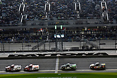 2017 Camping World Truck - NextEra Energy Resources 250<br /> Daytona International Speedway, Daytona Beach, FL USA<br /> Friday 24 February 2017<br /> Austin Self and J J Yeley<br /> World Copyright: Nigel Kinrade/LAT Images<br /> ref: Digital Image 17DAY2nk09888