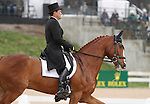April 25, 2014: Mr. Medicott and Phillip Dutton compete in Dressage at the Rolex Three Day Event in Lexington, KY at the Kentucky Horse Park.  Candice Chavez/ESW/CSM