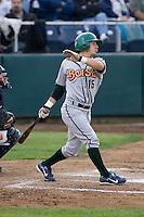 June 22, 2008: The Boise Hawks' David Macias at-bat against the Everett AquaSox during a Northwest League game at Everett Memorial Stadium in Everett, Washington.