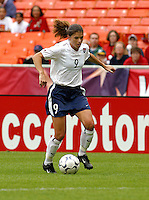 Julie Foudy, USWNT vs Canada April 26, 2003.