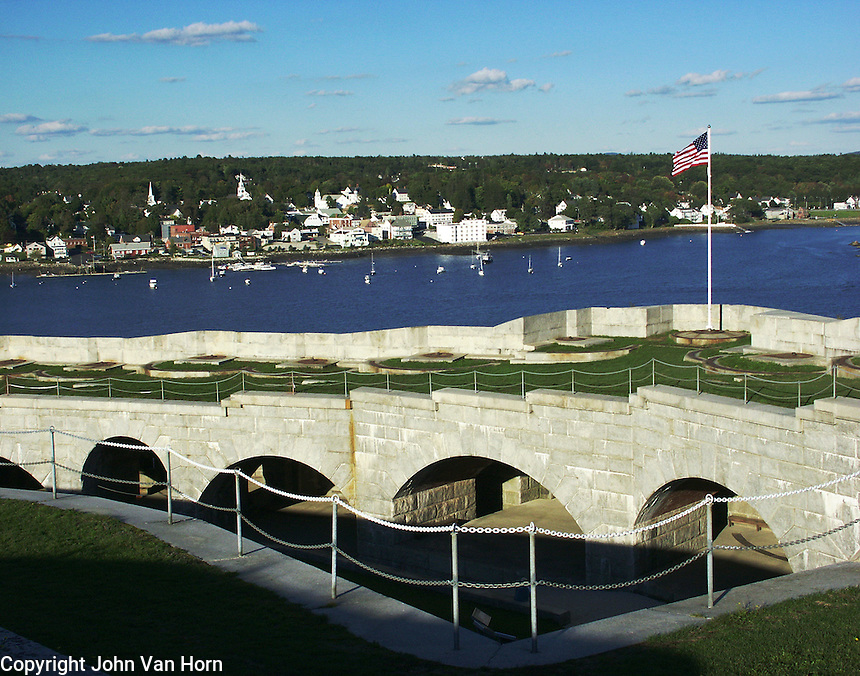 DCF 1.0 Fort Knox, Prospect, Maine, located on the Penobscot Narrows