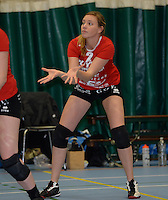 Volley Team Brugge : Laure Niclaes<br /> foto VDB / BART VANDENBROUCKE