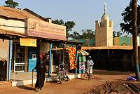 SOUTH SUDAN, Bahr al Ghazal region, Lakes State, town Rumbek , mosque / SUED-SUDAN  Bahr el Ghazal region , Lakes State, Rumbek , Moschee