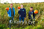 The Tralee Bay Wetlands Launching their scavenger hunt in the Wetlands on Monday, which will take place on the 25th, 27th and 29th of October, l to r: Tom Canaban, Kieran Galwey and Alan Balfe