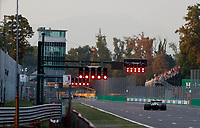 10th September, September 2021; Nationale di Monza, Monza, Italy; FIA Formula 1 Grand Prix of Italy, Free practise and qualifying for sprint race: Lewis Hamilton GBR, Mercedes-AMG Petronas F1 Team crosses the finish line after taking 2nd on pole for sprint race