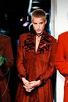 File Photo circa 1994 - Fashion model and actress Eve Salvail