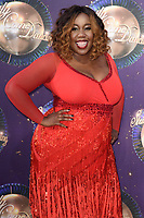 "Chizzy Akudolu<br /> at the launch of the new series of ""Strictly Come Dancing, New Broadcasting House, London. <br /> <br /> <br /> ©Ash Knotek  D3298  28/08/2017"