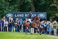 USA-Savannah Fulton rides Captain Jack during the Cross Country. 2019 GBR-Land Rover Burghley Horse Trials. Saturday 7 September. Copyright Photo: Libby Law Photography