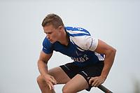 FIERLJEPPEN: WINSUM: 08-08-2020, 1e Klasse Fierljeppen, Nard Brandsma, ©foto Martin de Jong