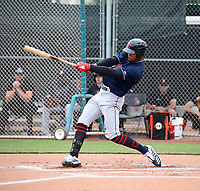 Will Benson - Cleveland Indians 2020 spring training (Bill Mitchell)