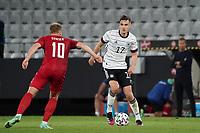 Florian Neuhaus (Deutschland Germany) gegen Christian Eriksen (Dänemark, Denmark) - Innsbruck 02.06.2021: Deutschland vs. Daenemark, Tivoli Stadion Innsbruck