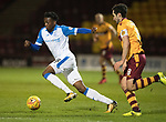 Motherwell v St Johnstone…06.02.18…  Fir Park…  SPFL<br />Matty Willock and Carl McHugh<br />Picture by Graeme Hart. <br />Copyright Perthshire Picture Agency<br />Tel: 01738 623350  Mobile: 07990 594431