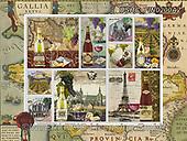 ,LANDSCAPES, LANDSCHAFTEN, PAISAJES, LornaFinchley, paintings+++++,USHCFIN0200AZ,#L#, EVERYDAY ,vintage,stamps,puzzle,puzzles