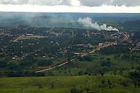 Áreas de fazenda próximas ao garimpo do Juma em Apuí.<br /> <br /> Garimpo do Juma,  descoberto em Novo Aripuanã, no sul do Amazonas,  igarapé da Preciosa, um afluente do rio Juma (a 70 km da cidade de ApuÌ) vai crescendo com dezenas de buracos abertos sob a selva.<br /> Apuí, Amazonas, Brasil<br /> 31/01/2007<br /> Foto Paulo Santos/